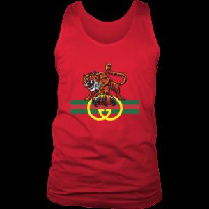 Tiger Gucci Logo Mens Tank Top