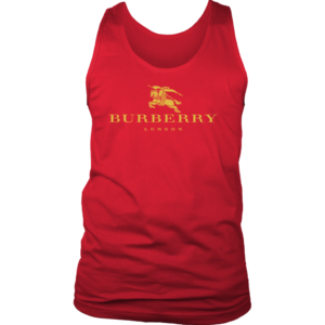 Burberry Gold Edition Logo Mens Tank Top