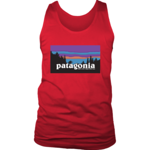 Patagonia Logo New Design Mens Tank Top