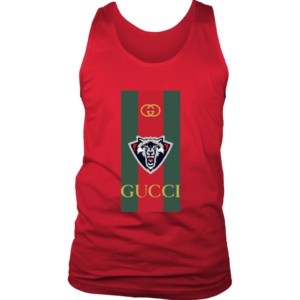 Gucci Wolf Printed Logo Limited Edition Mens Tank Top