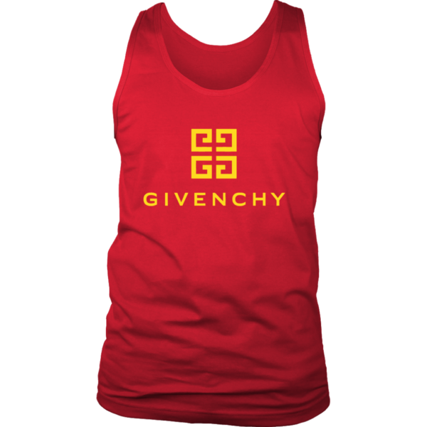 Givenchy Gold Logo Premium Mens Tank Top