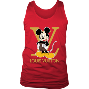 Louis Vuitton Mickey Mouse Mens Tank Top
