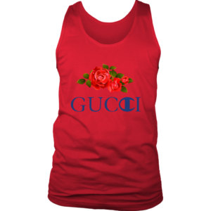 Gucci Champion Rose Mens Tank Top
