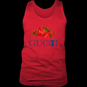 Gucci Champion Rose Mens Tank Top