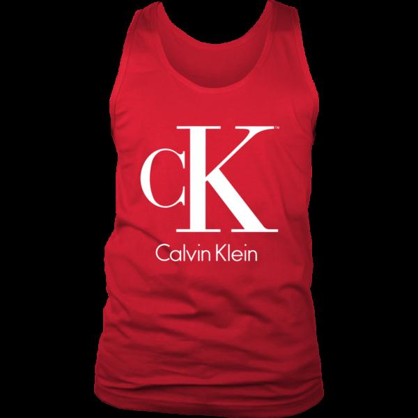 Calvin Klein Logo Mens Tank Top