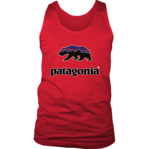 Patagonia Fitz Roy Bear Mens Tank Top