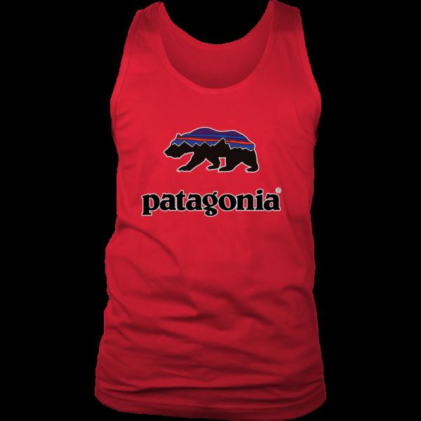 Patagonia Fitz Roy Bear Mens Tank Top