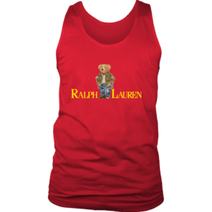Ralph Lauren Bear Mens Tank Top