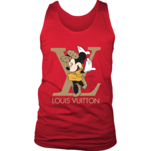 Minnie Mouse Louis Vuitton Edition Mens Tank Top