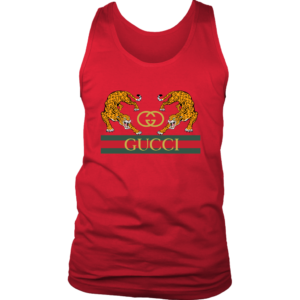 Gucci Strength Jaguar Mens Tank Top