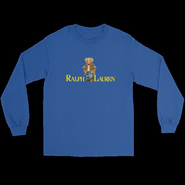 Ralph Lauren Bear Long Sleeve Tee