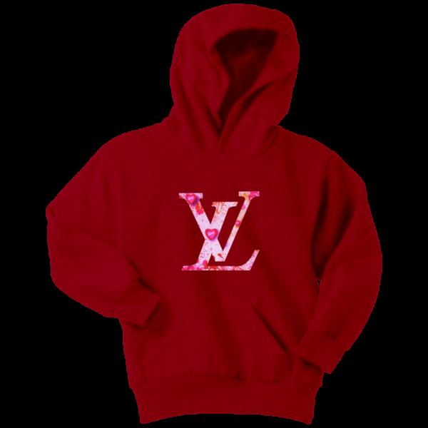 Louis Vuitton Love Logo Youth Hoodie