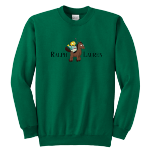 Ralph Lauren Simpson Youth Crewneck Sweatshirt