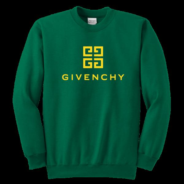 Givenchy Gold Logo Premium Youth Crewneck Sweatshirt