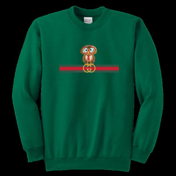 Gucci Owl Premium Limited Youth Crewneck Sweatshirt