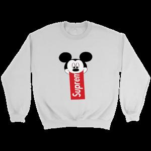 Supreme Mickey Mouse Disney Crewneck Sweatshirt