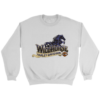 Versace Gold Logo Crewneck Sweatshirt
