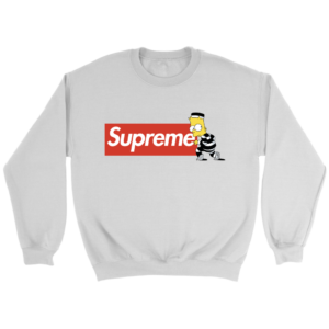 Bart Simpson Supreme Crewneck Sweatshirt