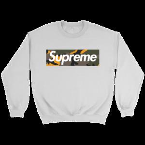 Supreme Brooklyn Logo Crewneck Sweatshirt