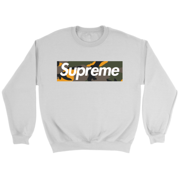 Supreme Brooklyn Logo Crewneck Sweatshirt