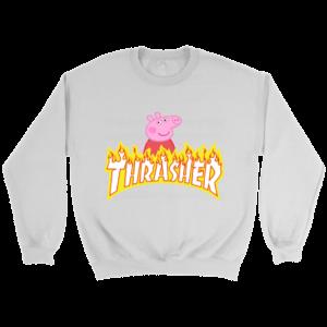 Peppa Pig Thrasher Premium Crewneck Sweatshirt