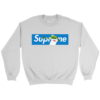 Supreme x Louis Vuitton Logo Crewneck Sweatshirt