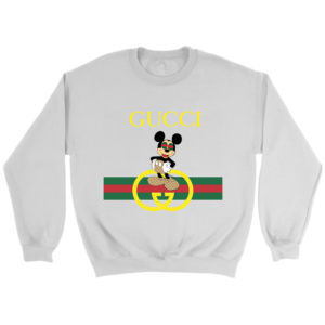 Gucci Mickey Mouse Limited Edition Crewneck Sweatshirt