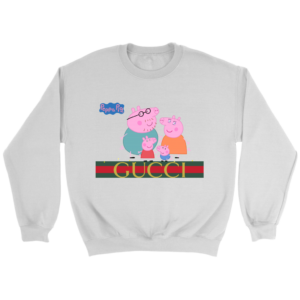 Peppa Pig Gucci Limited Crewneck Sweatshirt