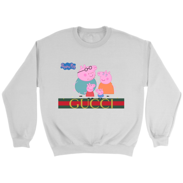 Peppa Pig Gucci Limited Crewneck Sweatshirt