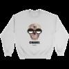 Chanel Logo Dripping Jade Green Crewneck Sweatshirt