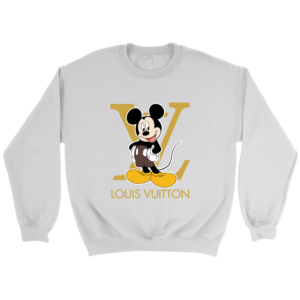 Louis Vuitton Mickey Mouse Crewneck Sweatshirt