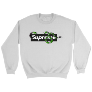 Supreme Snake Logo Limited Edition Crewneck Sweatshirt