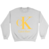 Burberry Gold Edition Logo Crewneck Sweatshirt