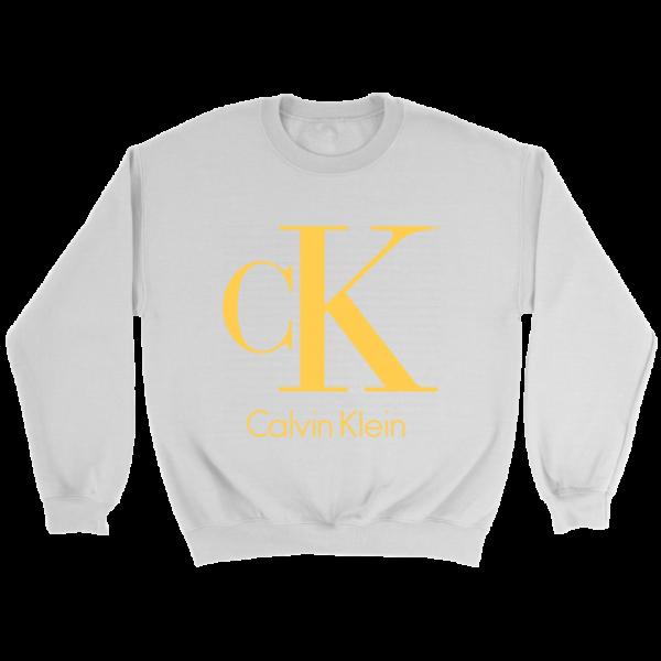 Calvin Klein Gold Logo Premium Crewneck Sweatshirt