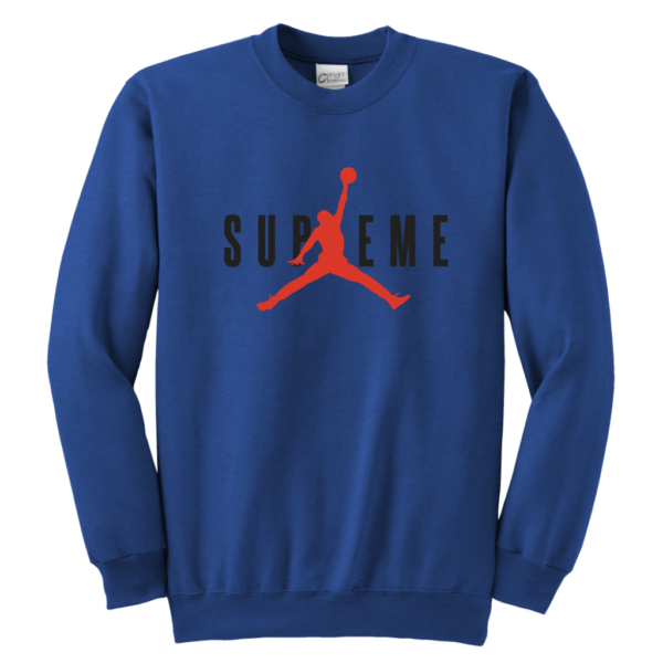 SUPREME BASKETBALL JORDAN Youth Crewneck Sweatshirt