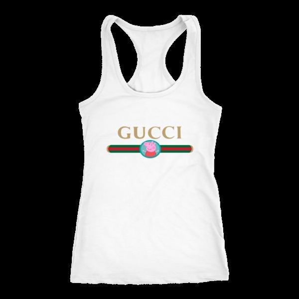 Peppa Pig Gucci Logo Premium Women's Tank Top