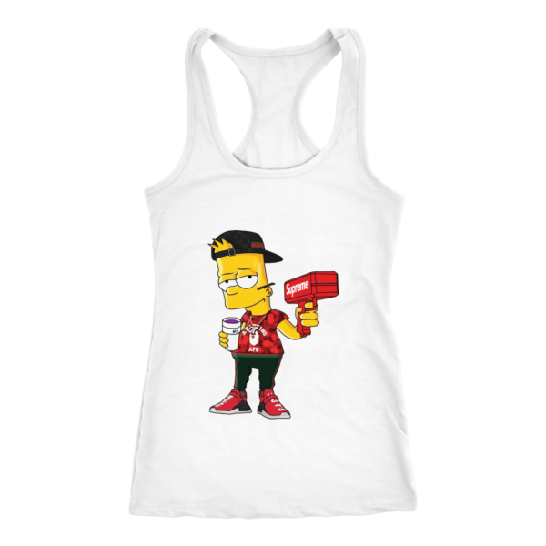 Bart Simpson Gucci Limited Edition Women's Tank Top