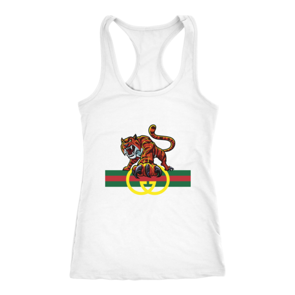 Tiger Gucci Logo Womens Tank Top