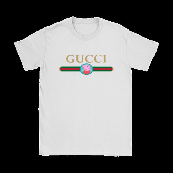 Peppa Pig Gucci Logo Premium Womens T-Shirt
