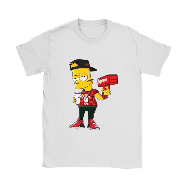 Bart Simpson Gucci Limited Edition Womens T-Shirt