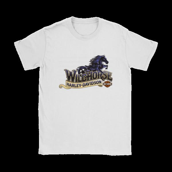 Wildhorse Harley Davidson Logo Womens T-Shirt