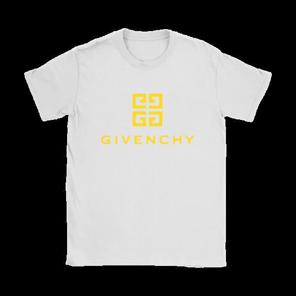 Givenchy Gold Logo Premium Womens T-Shirt