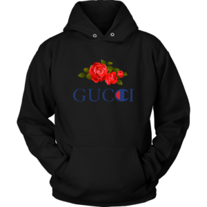 Gucci Champion Rose Unisex Hoodie