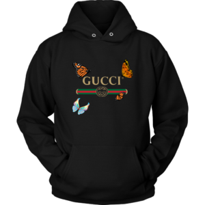 Gucci Butterfly Printed Edition Unisex Hoodie