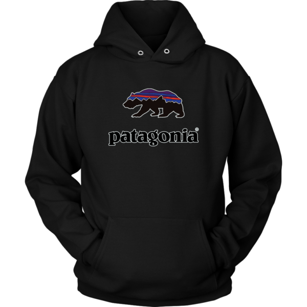 Patagonia Fitz Roy Bear Unisex Hoodie