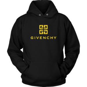 Givenchy Gold Logo Premium Unisex Hoodie