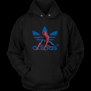 Spiderman Adidas Marvel Logo Unisex Hoodie