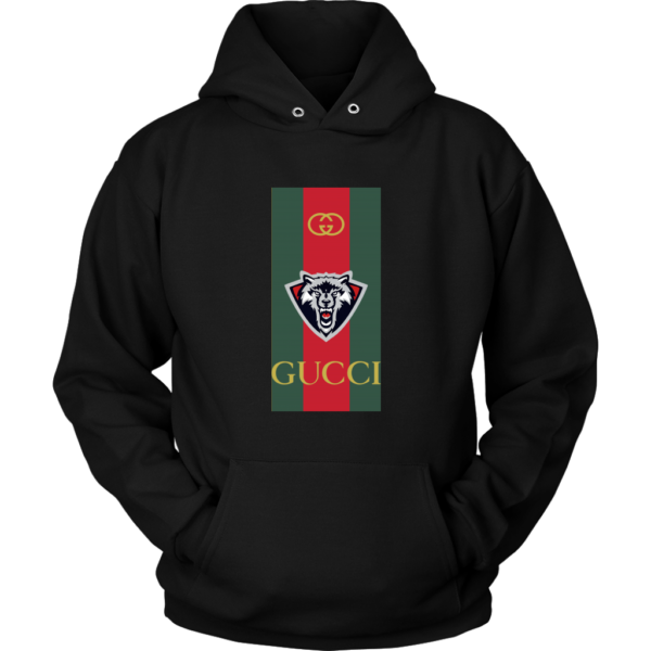 Gucci Wolf Printed Logo Limited Edition Unisex Hoodie