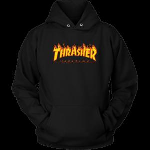 Thrasher Flame Logo Unisex Hoodie