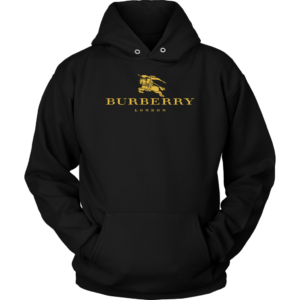 Burberry Gold Edition Logo Unisex Hoodie